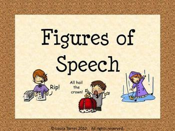 Figurative Language Power point - Definitions and Illustrations: Language Power, Speech Language, Illustrations 3 00, 6Th Grade, Power Points, Illustrations Product, Definitions, Figurative Language