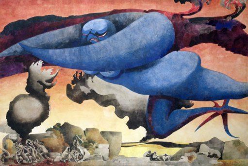 Blue Baby, Blitz Over Britain, 1941
