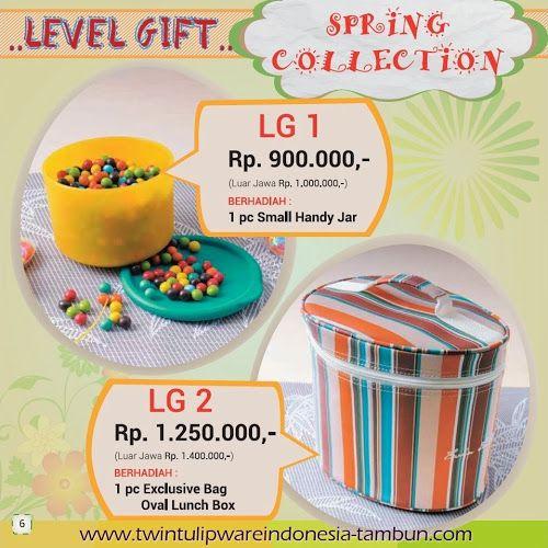 Level Gift Twin Tulipware | Maret - April 2014