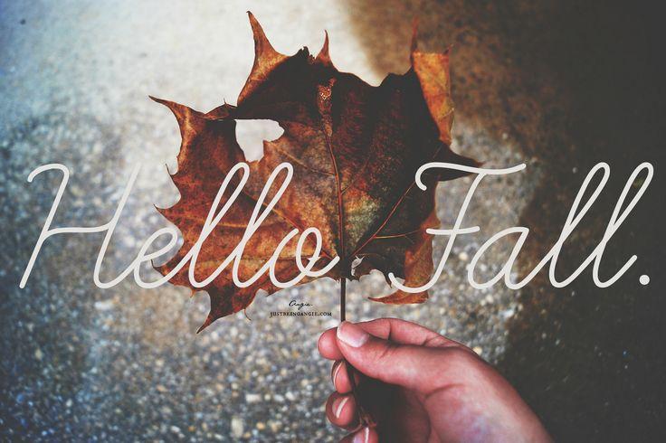 Hello Fall #Automne #Happy #Enjoy