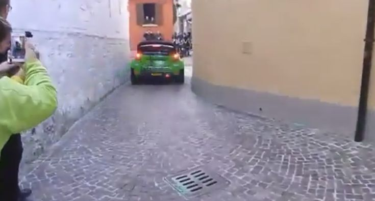 The Most Narrow Rally Passage, Which Is A Nightmare For Rally Drivers