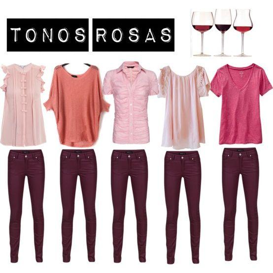 Borgoña + rosas