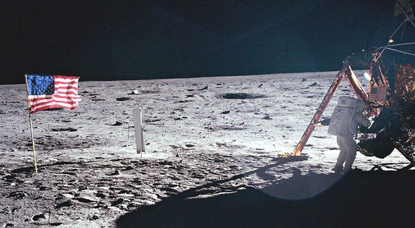 """Neil Armstrong, who made the """"giant leap for mankind"""" as the first human to set foot on the moon, died on Saturday. He was 82. Neil Armstrong, First Man on Moon, Dies at 82 - NYTimes.com"""