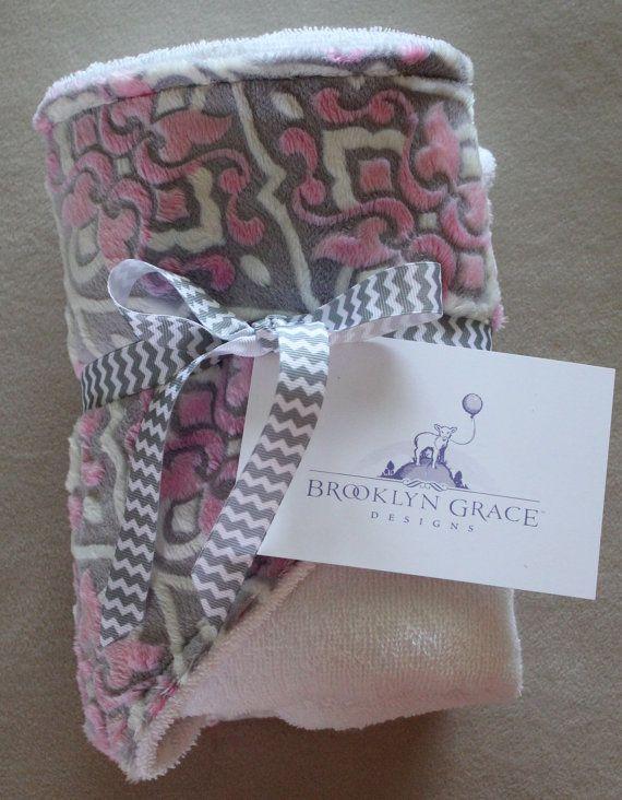 Infant  Baby Hooded Towel MarBella Sofia by BrooklynGraceBabies, $24.00