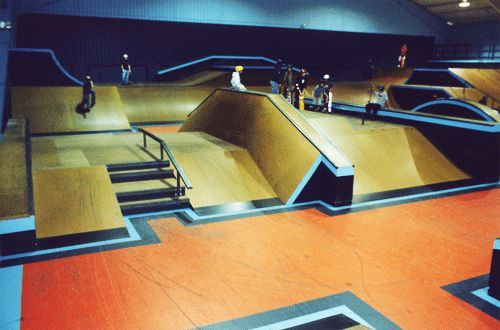 best indoor skatepark in the world - Google Search