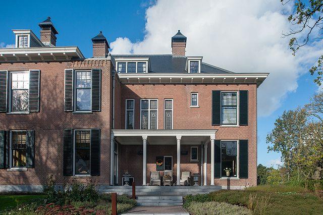 #Vredenoord #Rijswijk #DenHaag #GVBarchitecten #restauratie #buitenplaats - achtergevel na restauratie