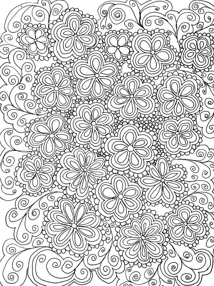 Fourre-tout Escamotables - Doodle Floral Par Vida Vida z0OFMk5NP