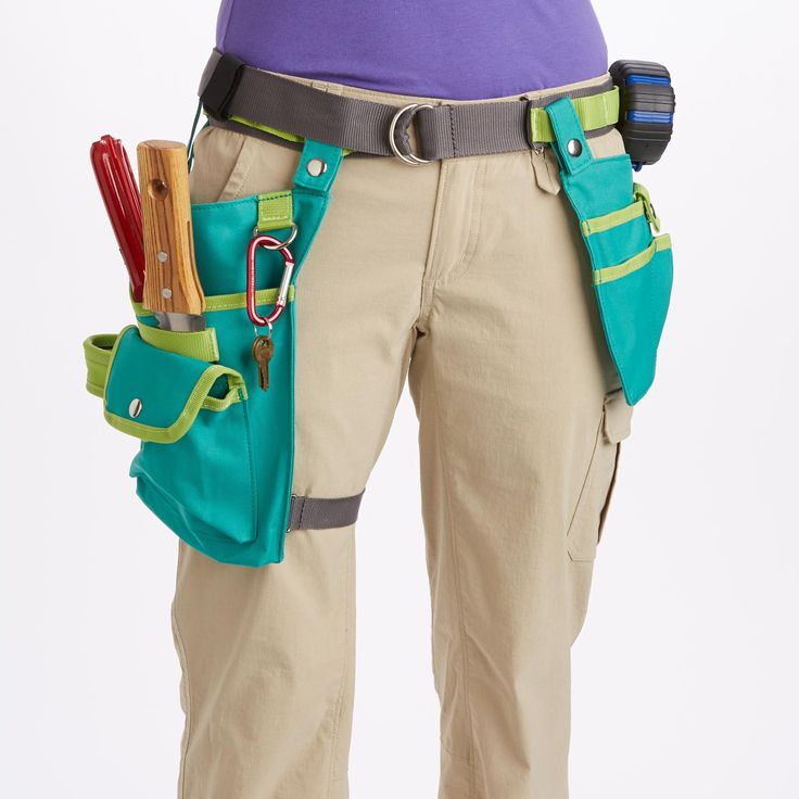 Free up your hands and keep tools handy with Women s Utility Holster Pouches  from Duluth Trading Company  Includes adjustable web belt plus two rugged  and. 22 best garden aprons and other helpers images on Pinterest