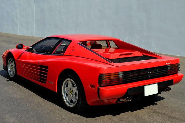 Ferrari Testarossa For Sale Cheap >> Ferrari Testarossa | Fast n Philonious | Pinterest | Ferrari, Dream cars and Cars