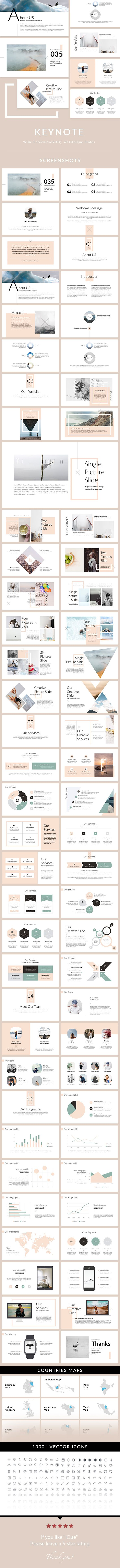 iQue - Keynote Presentation Template