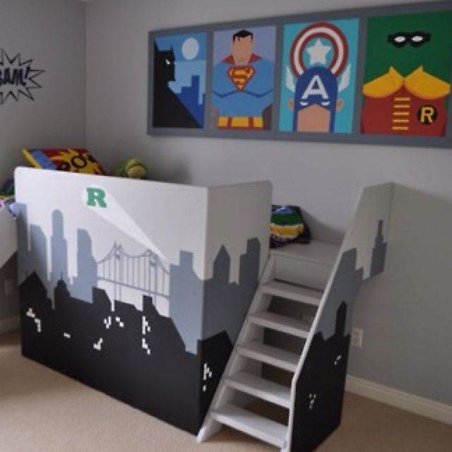 Cutest little boys room!!