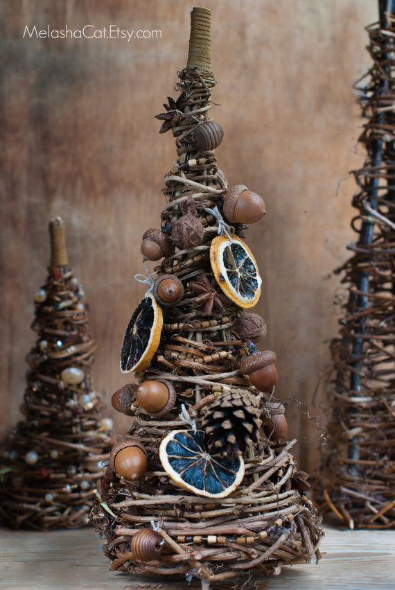 Natural Christmas Decorations Pinterest