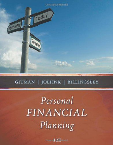 I'm selling Personal Financial Planning by Lawrence J. Gitman, Michael D. Joehnk and Randy Billingsley - $10.00 #onselz