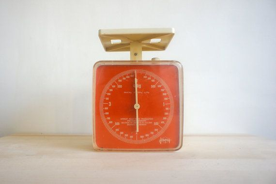 Vintage Kitchen Scale Decor