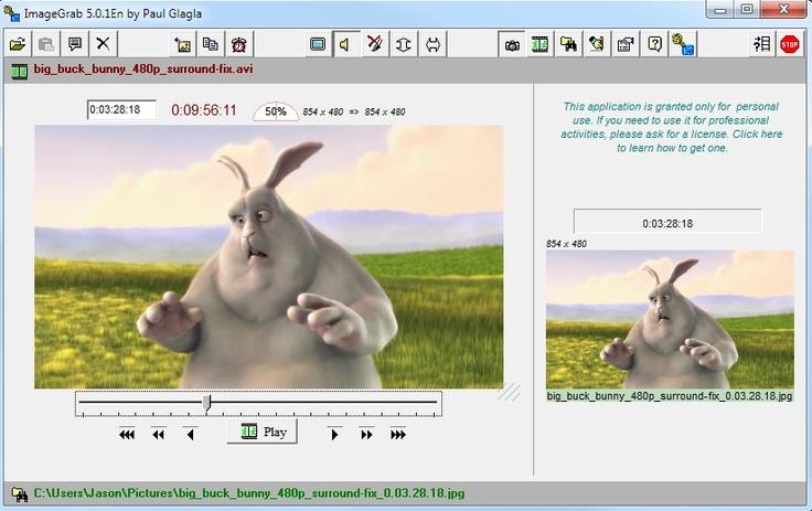 ImageGrab Is a Powerful Video Screenshot Tool