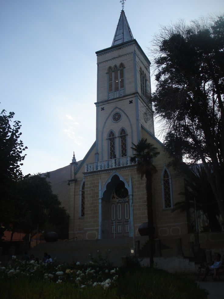 iglesia de Pisco!