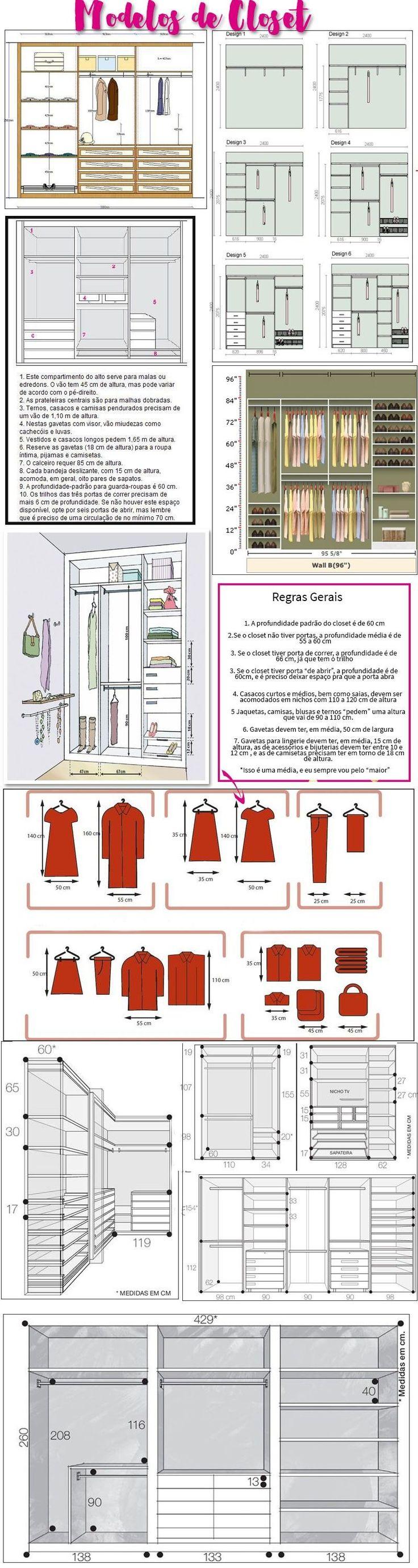 modelos de closet