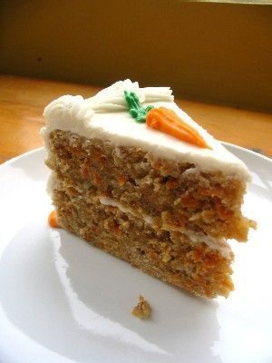 Low Sodium & SCRUMPTIOUS! Carrot Cake » The Daily Dish