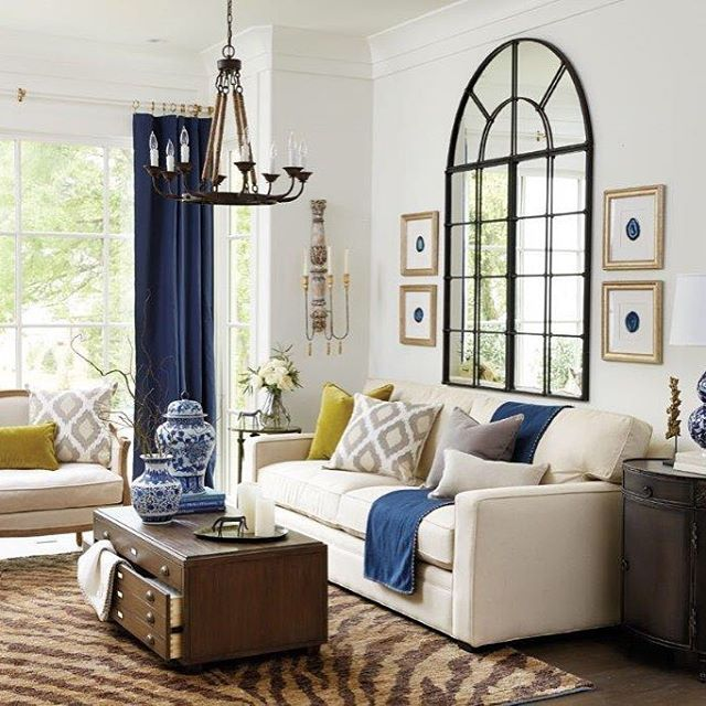 Sofa Mirrors 5 Decorating With Mirrors Behind Sofas The ...