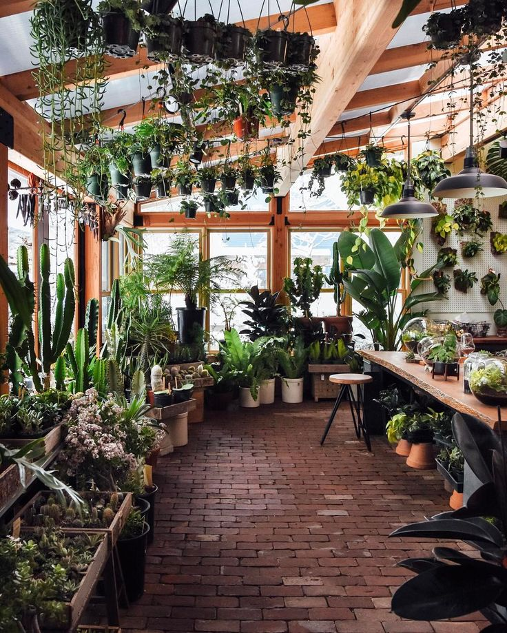 I wanna build a nursery in my back yard just like this.
