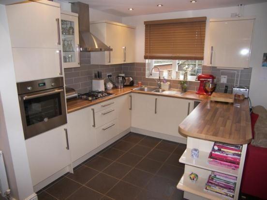 Lovely open plan kitchen