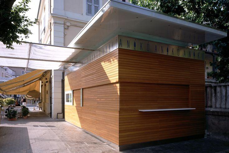 ANIKò, chiosco porefabbricato, Senigallia - Architetti CpiuA Ceccarelli Associati