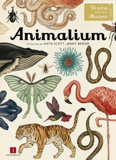 Es un libro maravilloso. Animalium de Katie Scott