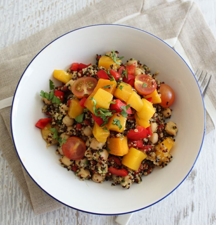 Quinoa salad with mango salsa | #Thermomix recipe booklet #cookingformeandyou