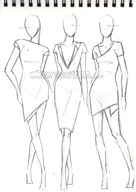 LOVEtHEART - Fashion Illustration