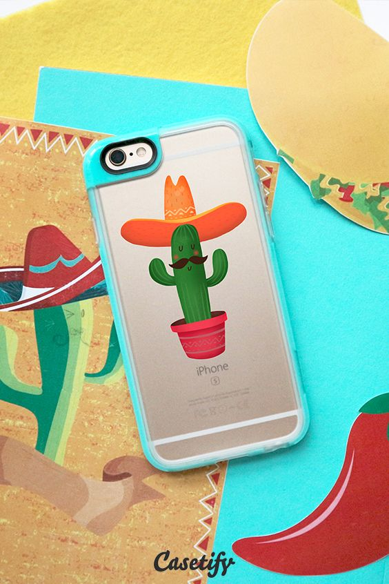 Click through to see more protective iPhone 6 phone case designs by Nadya >>> https://www.casetify.com/de_DE/Brooklit/collection #phonecase #cactus #gardenart | @casetify