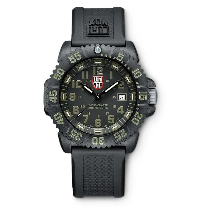 Luminox Navy Seal Watch, Black / Olive - 977363, Watches at Sportsman's Guide