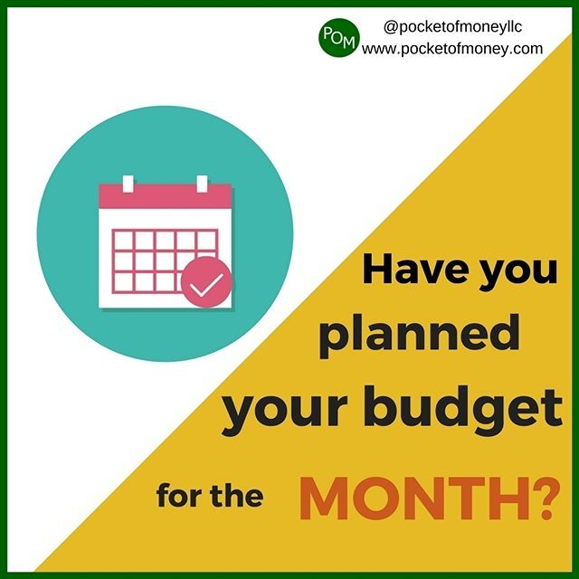Reposting @pocketofmoneyllc: Take time out to review your expenses from last month.  #tip