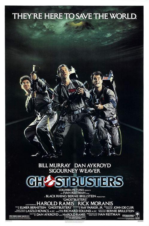 Los Cazafantasmas (Ghostbusters), 1984