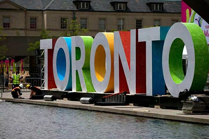 The #TorontoSign went up during the 2015 Pan Am Games and has quickly become a favourite spot for photos by visitors and locals alike.