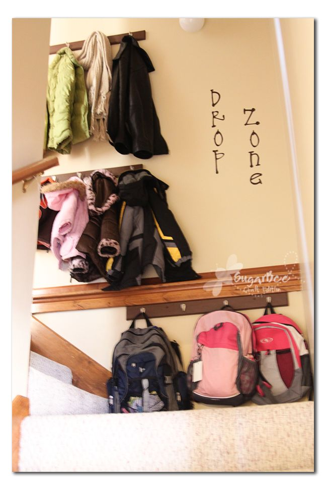 The ultimate quandary – where do the coats and backpacks go?!? (I'm not sure why a coat closet doesn't work for this, but it doesn't) When we moved in our house a few years ago, we decided to put some hooks in our laundry room and have it double as a mud room.  Lots of...Read More »
