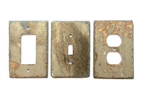 Decorative Electrical Box Covers 108 Best Light Switch And Outlet Covers Slate Wall Plates Images
