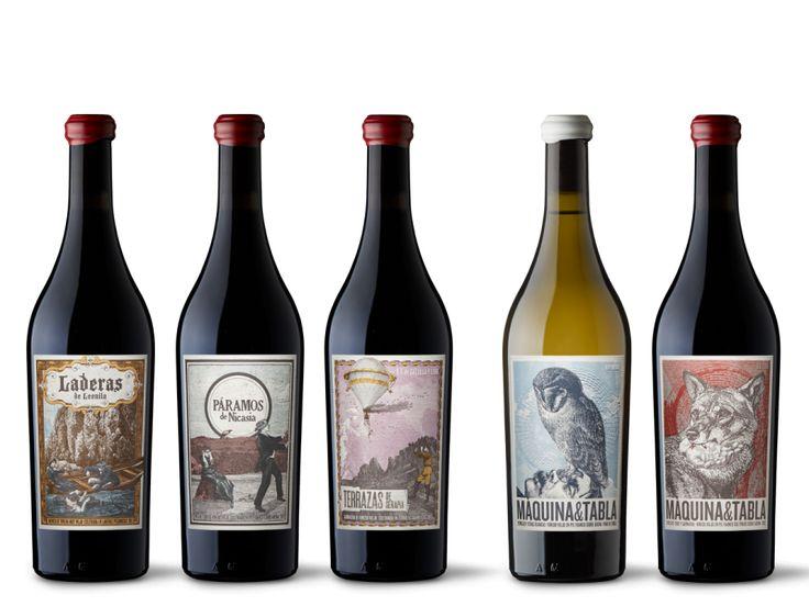 Etichette di vino di designer divini - Wine on Mars