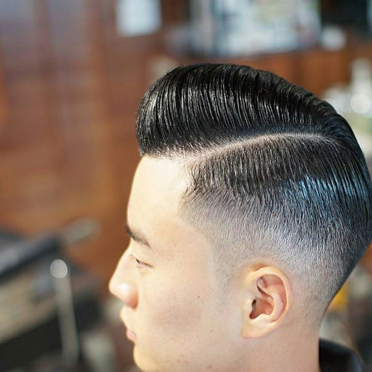 Saturdays are for #sideparts. Super sleek #sidepartedpomp from  @_whyj_ has . A #barbershop classic laced up with #layrite deluxe pomade  #haircut #hairstyle #mensgrooming #menshair #highandtight  #stayritewithlayrite #KeepItTogether #layritestyle #layrite #n2ragebarbershop #naturalpart