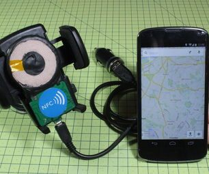 DIY Wireless Charger + NFC Dock For Your Car