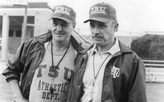 Hector Elizondo and Robert Loggia in Necessary Roughness - one of the GREATEST MOVIES EVER !!