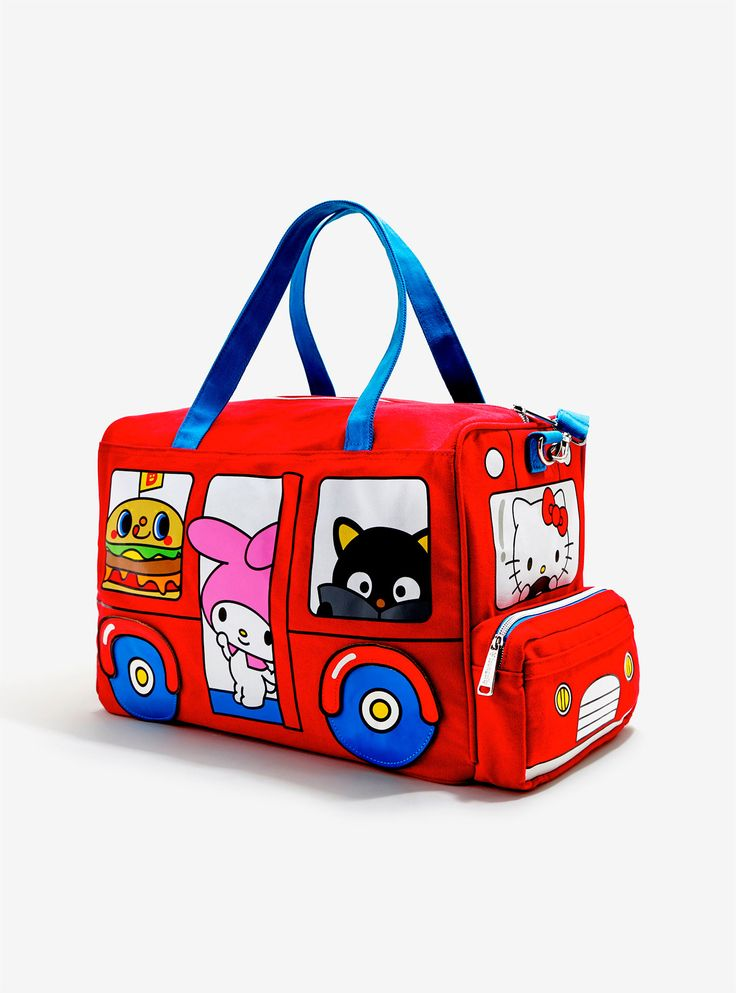 hello sanrio bus duffle bag from box lunch $69.90