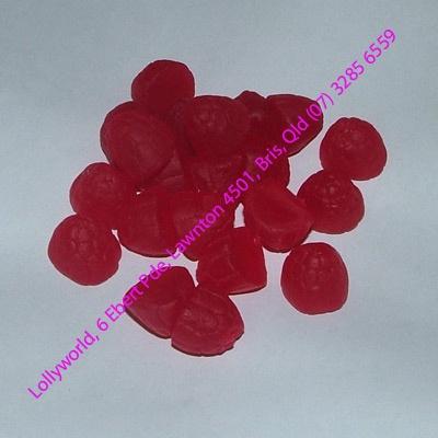 Allens Raspberries Lollies