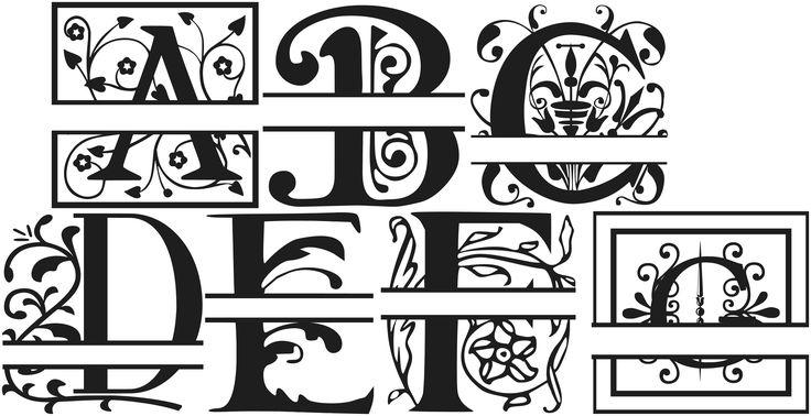 Download Free Monogram Fonts - Bing images | Free monogram fonts ...