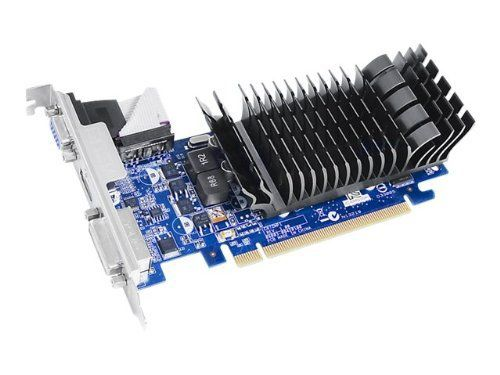 ASUS EN210 is a silent, low-profile card for HD HTPC entertainment. It is ideal for home theater PCs and multimedia centers with low profile design and high power efficiency. Silent passive cooling runs 0dB quiet, perfect for hushed gaming and multimedia joy.       Famous... more details available at https://perfect-gifts.bestselleroutlets.com/gifts-for-holidays/computers/product-review-for-asus-geforce-210-1gb-64-bit-ddr3-pci-express-2-0-x16-low-profile-