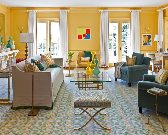 marvellous turquoise yellow living room | 17 Best images about office ideas on Pinterest | Turquoise ...