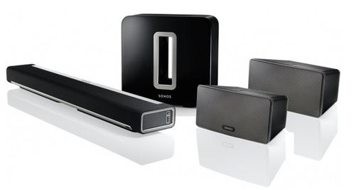 Sonos 5.1 Surround Sound Package | Sub, Playbar, Play 3 | The Listening Post Christchurch and Wellington