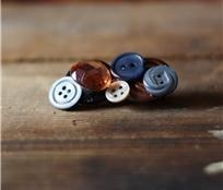 Say 'Happy Mother's Day' to a special someone in your life with this button brooch by Button Therapy.