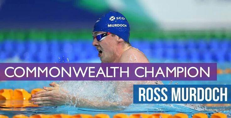 team scotland swimming ross murdoch gold medal
