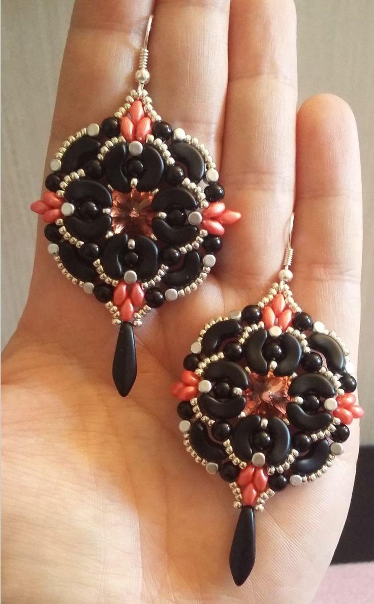 Diy Photo Tutorial Pdf Eng/ENG Gothic Earrings by MoonroseCreation