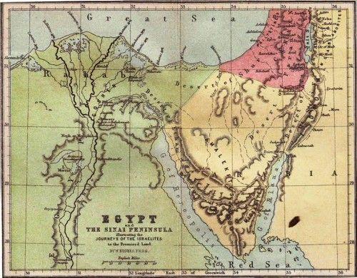 Sinai Peninsula Facts - 0425